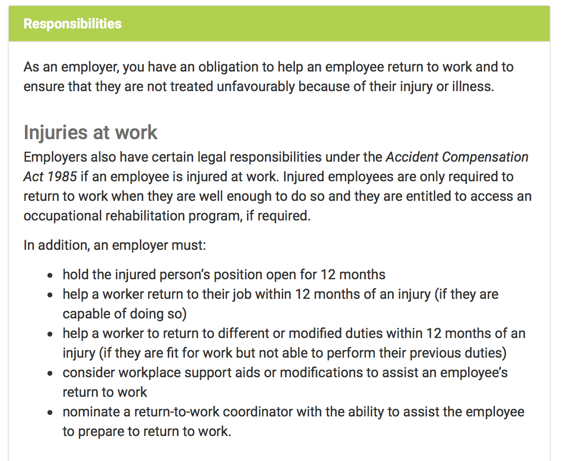 What you need to know about non work-related injuries