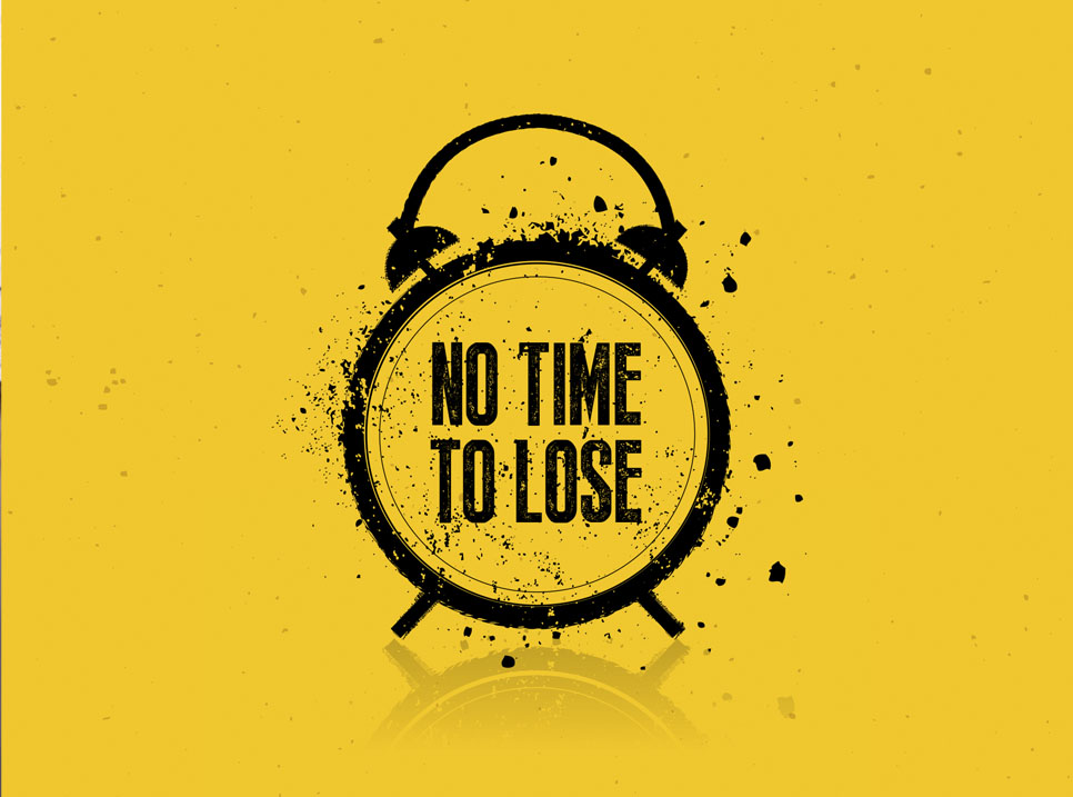 </p><h3>Poster - No Time To Lose Campaign</h3><p>