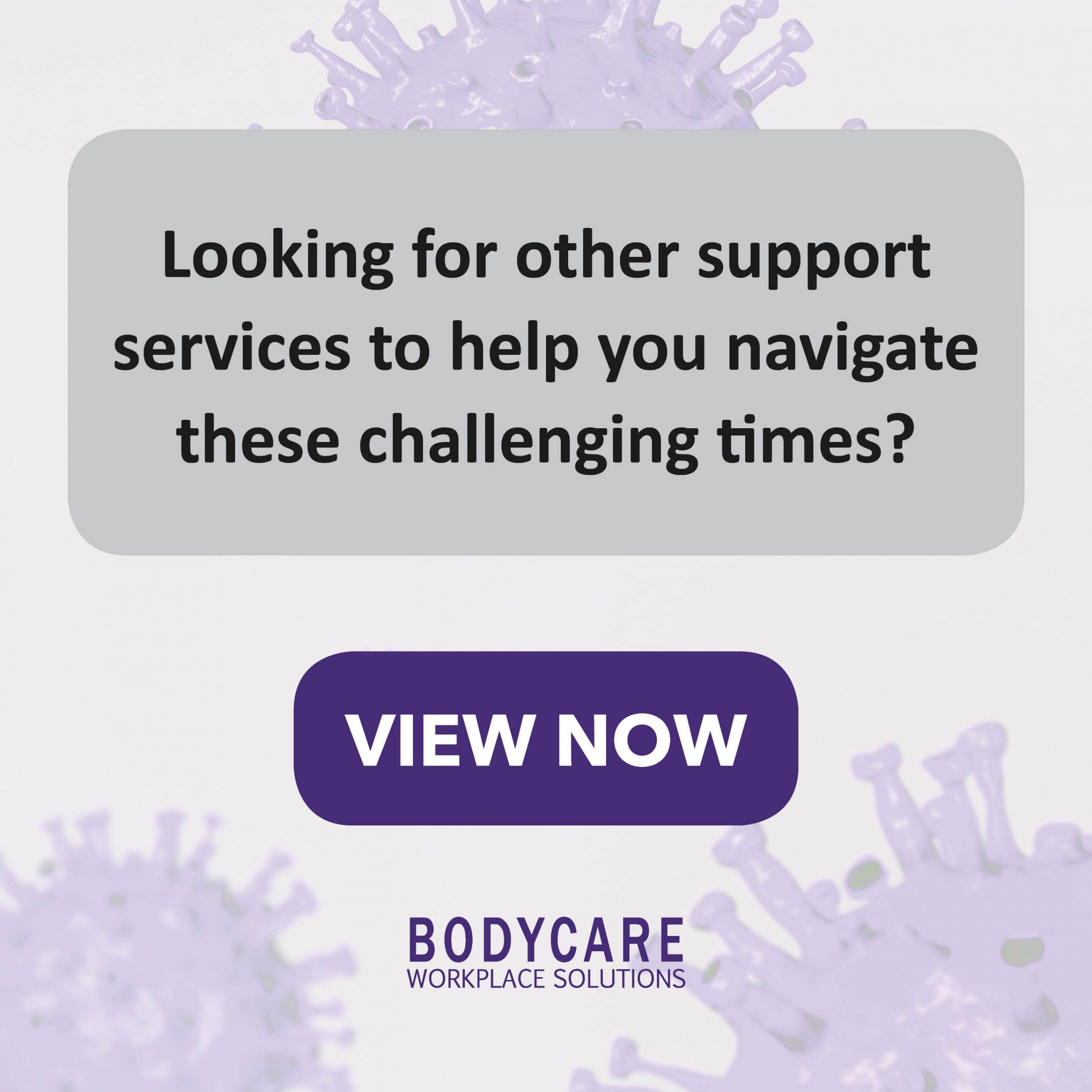 Coronavirus COVID-19 Support Services