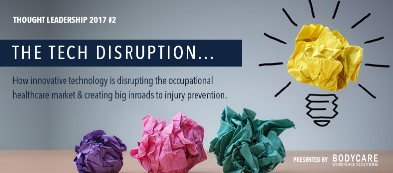 Thought Leadership 2017 #2 The Tech Disruption