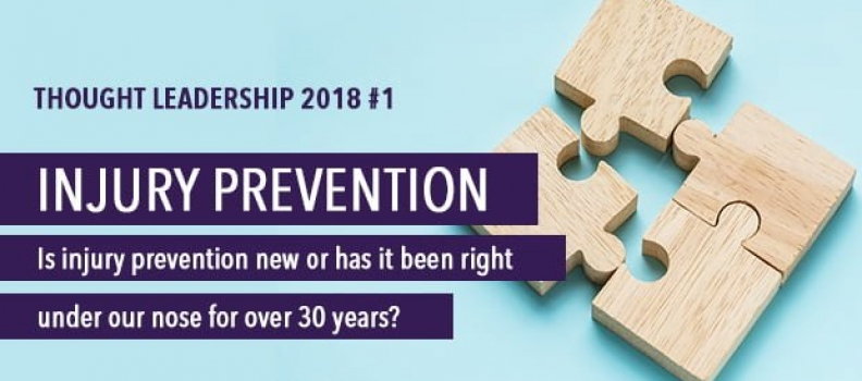Thought Leadership 2018 #1 Injury Prevention